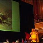 Glenn Albrecht, Jill Bough and Rod Bennison, Minding Animals conference convenors