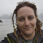 Rebecca Hendershott doing fieldwork in Vietnam, 2014